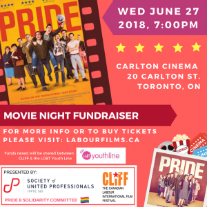 Pride Movie Night Fundraiser